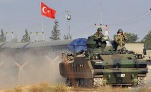 حمله ترکیه به سوریه برای سرکوب کردها و در حمایت از داعش است!