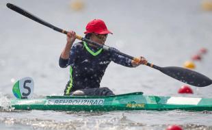 بانوی قایقران کرمانشاهی طلای مسابقات آسیایی ازبکستان را کسب کرد