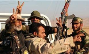 لحظه شماری برای آغاز عملیات الحشد الشعبی در غرب موصل/ یک قدم تا دروازههای موصل/ آزادی شهرک مسیحینشین «باطنایا»