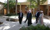 تقارن جالب انتشار یک خبر با حضور حسن روحانی در بیت تاریخی امام (ره) در خمین