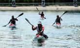 سه قایقران کرمانشاهی در اردوی تیم ملی آب های آرام بانوان حضور یافتند