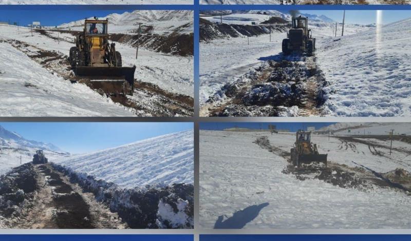 محل تجمع و ازدحام در تپه برفی سریاس شهرستان پاوه تخریب شد