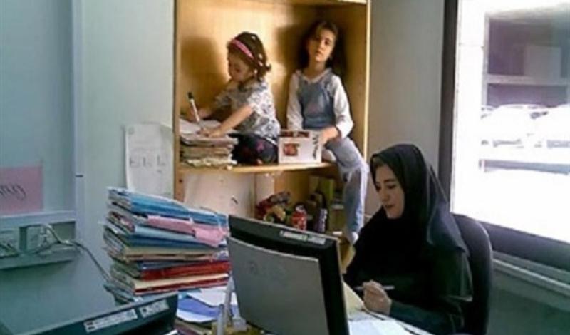 انصراف از مهر مادری به علت اخراج از کار!