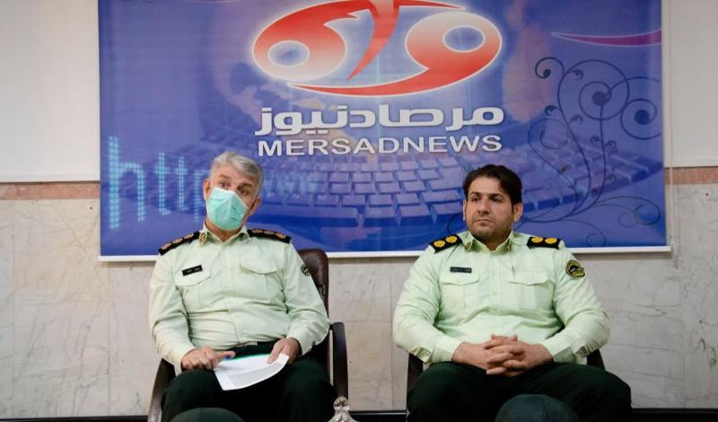 رییس پلیس آگاهی کرمانشاه از مجموعه خبری مرصادنیوز بازدید کرد