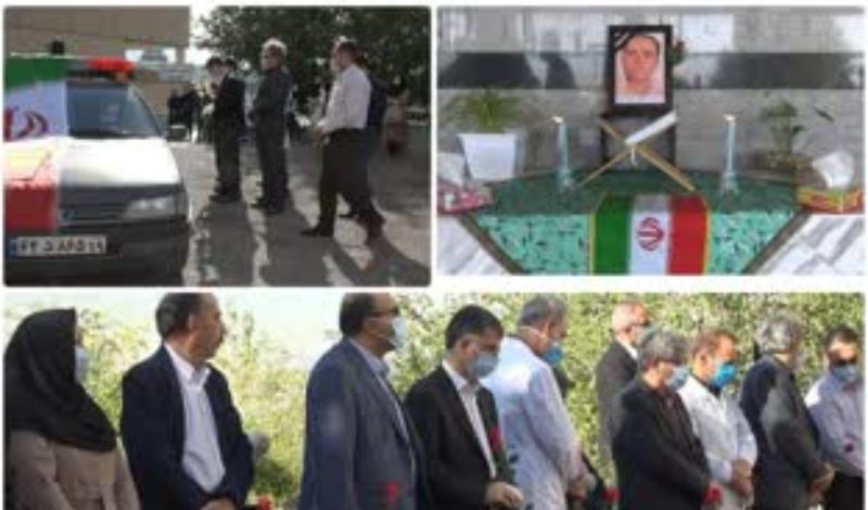 کرمانشاه باز هم در راه مبارزه با کرونا شهید داد