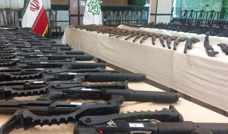 انهدام باند قاچاق اسلحه در کرمانشاه