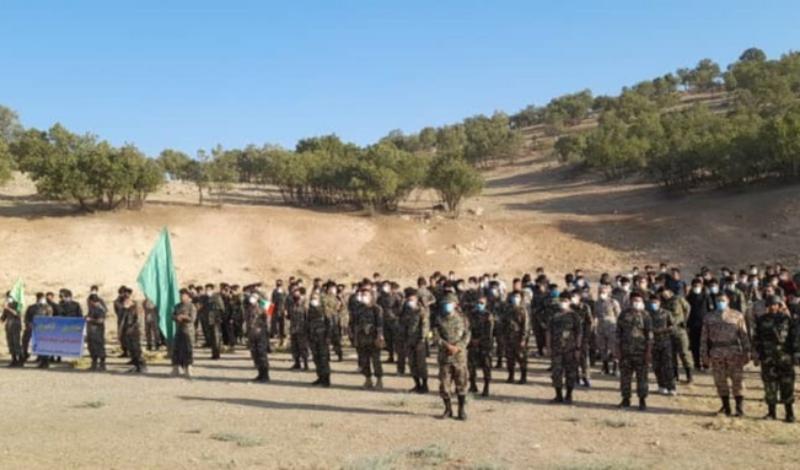 رزمایش تمرینات تاکتیکی گردان های امام علی (ع) بسیج در اسلام آبادغرب برگزار شد